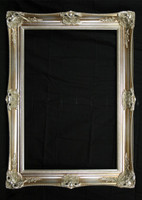 Empty Frame  Classic Antique Victorian Silver