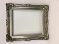 Empty Frame Imperial Bright Silver | Print Decor