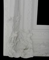 Empty Frame Grand Ornate White