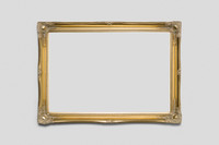 Empty Contessa Frame Gold