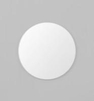 Modern Circular Mirror White