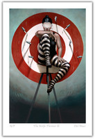 Modern Limited Edition print | Knife Thrower III | Gill Del-Mace