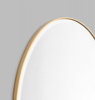 Print Decor | Lolita Oval | Brass | Detail