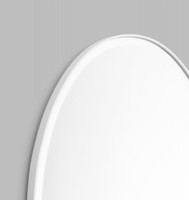 Print Decor | Lolita Oval | White | Detail