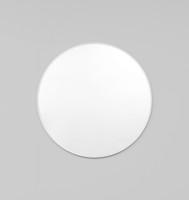 Modern Round Mirror | Bjorn | White