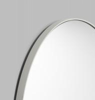 Modern Round Mirror | Bjorn | Dove Grey, detail