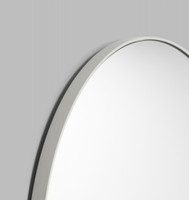 Modern Round Mirror | Bjorn | Dove Grey, detail
