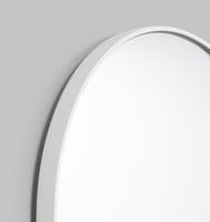 Bjorn Oval Bright White
