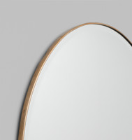 Brass Lange Mirror | Detail