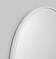 Lolita Round Bright White . Print Decor , Detail