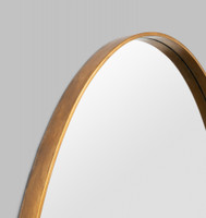 Grand Oval: Gold. Print Decor, Detail