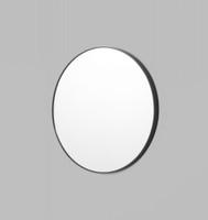 Modern Circular Mirror | 80cm Black | Print Decor