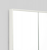 Loft Bright White Mirror | Frame close up