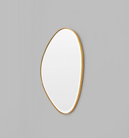 Riverstone Mirror | 70 x 90cm Brass