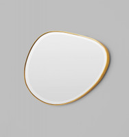 Riverstone Mirror | 120 x 70cm Brass