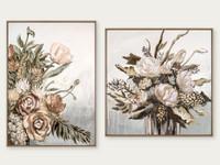 Still Life Vase Autumn & Still Life Bouquet Autumn | Print Decor