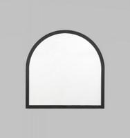 Cove Arch Mirror | Black | Print Decor