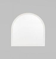 Cove Arch Mirror | White | Print Decor