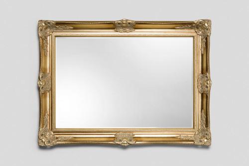 Classic Antique Ornate Victorian Mirror - Gold