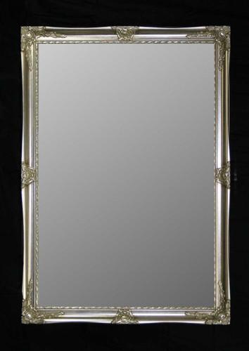 Print Décor - Alexandra Silver Beveled Mirror