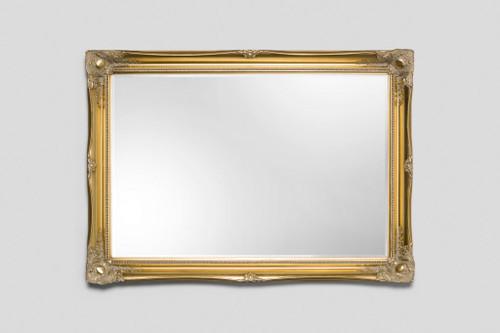 Contessa Gold Framed Bevelled Mirror