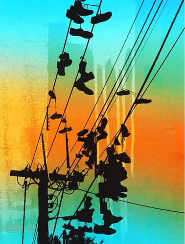 Jan Neil   Shoes On Easy Street (Aqua)