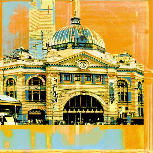Jan Neil | Flinders Street Station