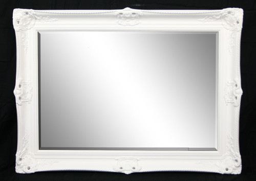 Classic Antique White Mirror