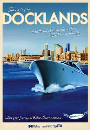 Print Decor | Bill Wood | Docklands Ship