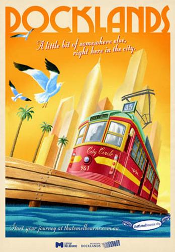 Melbourne Docklands Tram