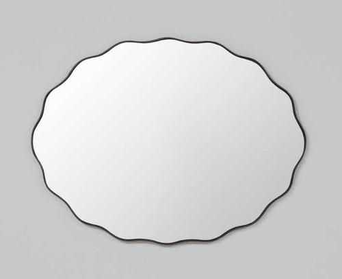 Print Decor | Scallop Mirror