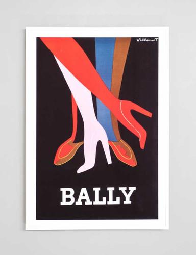 Print Decor | Bally Legs | Vintage Poster Framed