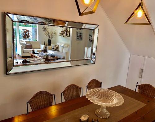 Tuscan Angled Mirror   In Situ