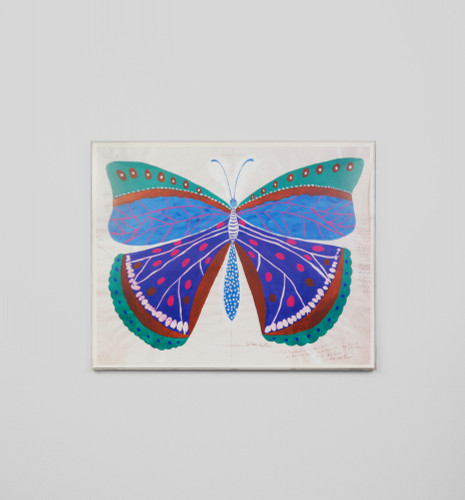Print Decor | PAPILLON BLEU