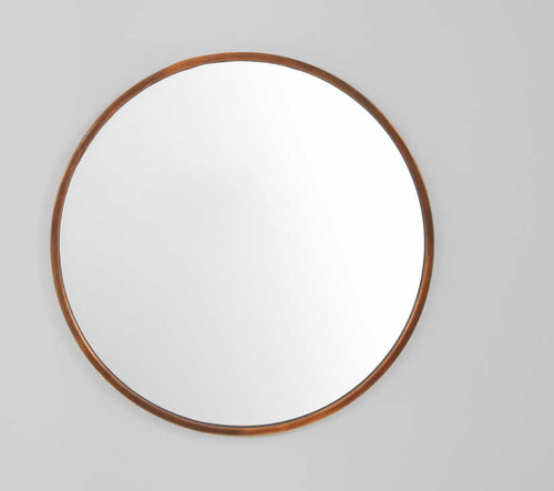 Simplicity Mirror Copper 76cm | Print Decor