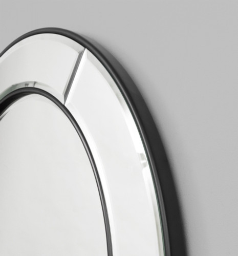 Quattro Round Mirror, detail | Print Decor
