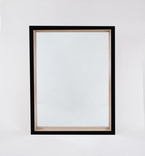 Skane Gloss Black Mirror   Print Decor