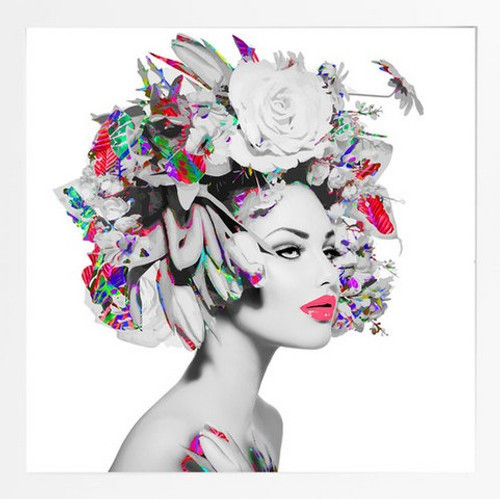 On Trend Image | Flower Girl | Print Decor, Melbourne