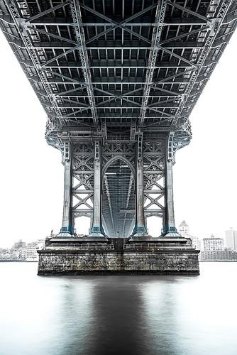 Photography  | Under Manhattan Bridge II | Nick Psomiadis