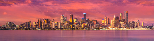 Photography | Melbourne Mega Panorama | Nick Psomiadis