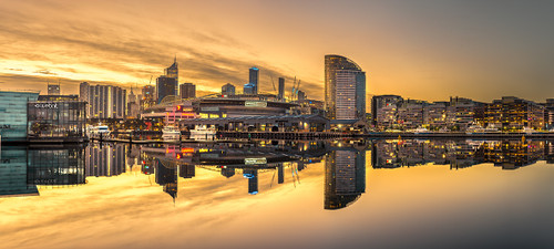 Photography | Melbourne Docklands | Wide Format | by Nick Psomiadis