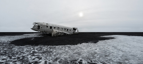 Photography | Solheimasandur Plane Wreck | Wide Format | by Nick Psomiadis