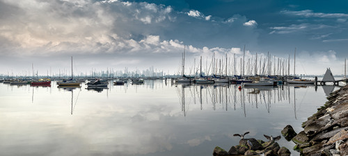 Photography   Williamstown Splendour    Wide Format   by Nick Psomiadis
