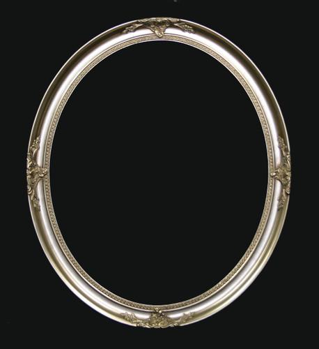 Elton Silver Oval frame only