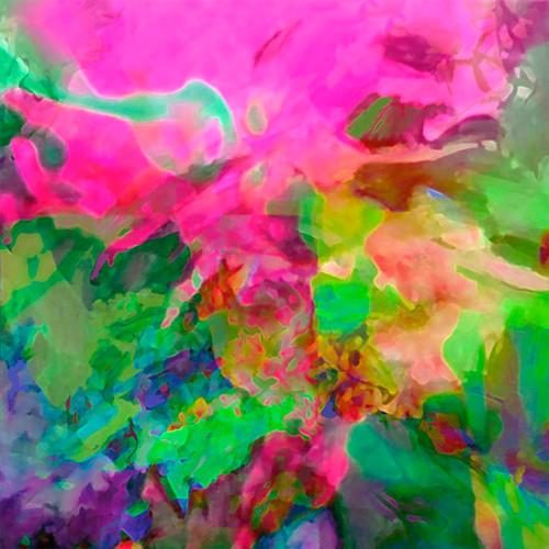 Jan Neil,  Lyrical Abstraction Pink