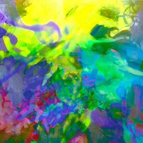 Jan Neil,  Lyrical Abstraction Yellow