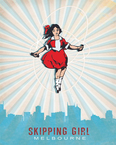 Jan Neil, Skipping Girl Over Melbourne