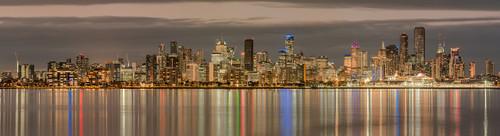 Photography | Melbourne Mega Panorama Dusk | Nick Psomiadis