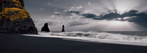 Photography | Black Sand Beach | Nick Psomiadis