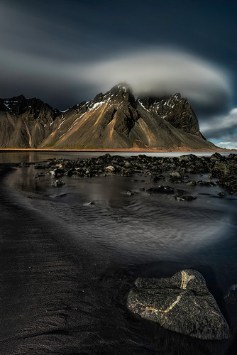 Photography |  Cloud Above Stokksnes |  by Nick Psomiadis